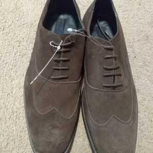Joseph Abboud Suede Shoes Size 10.5 New, No Tags